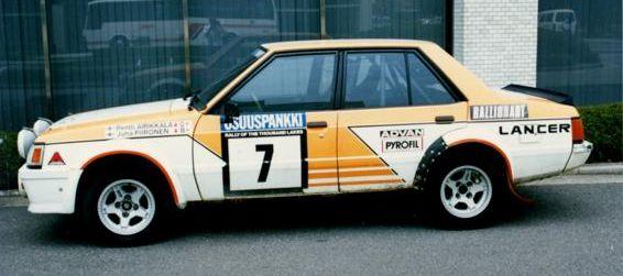 1982 Airikkala Piironen 1000 lakes lancer turbo 2000.jpg