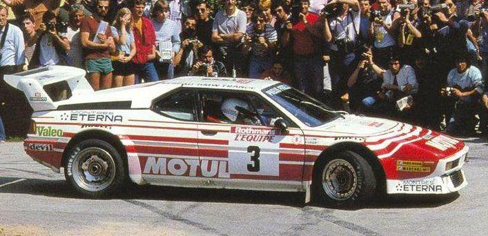 1983 Beguin Lenne Tour de Corse BMW M1.jpg