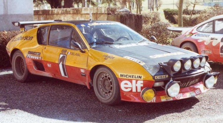 alpine a310 Guy Frequelin Rally Jean Behra 1977