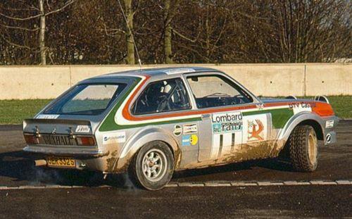vauxhall chevette 2300 Rac Rally 1978n Pentti Airikkala