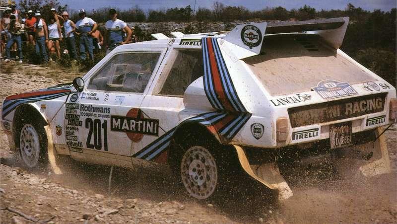 PROTOTIPO - RALLY MILLE PISTE 1985