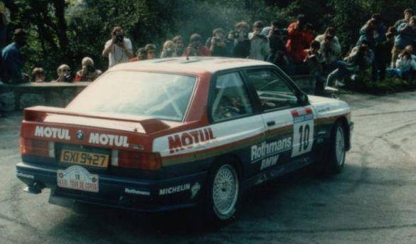 beguin lenne bmw m3 corse 1987 1st
