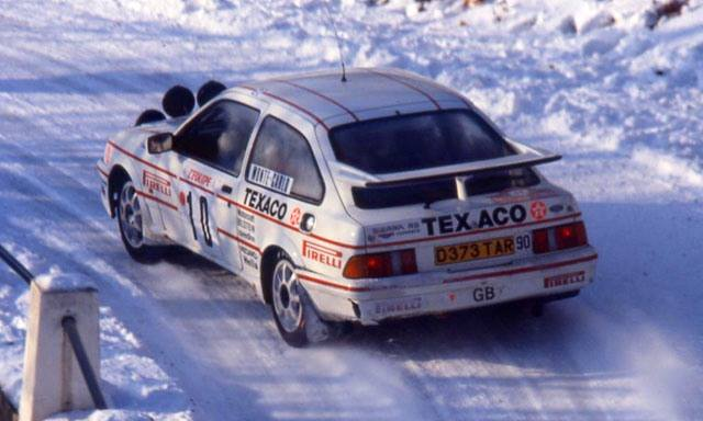 grundel harryman ford sierra RS cosw monte 1987, 84th