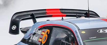 dani sordo Sweden Hyundai i20 WRC wing