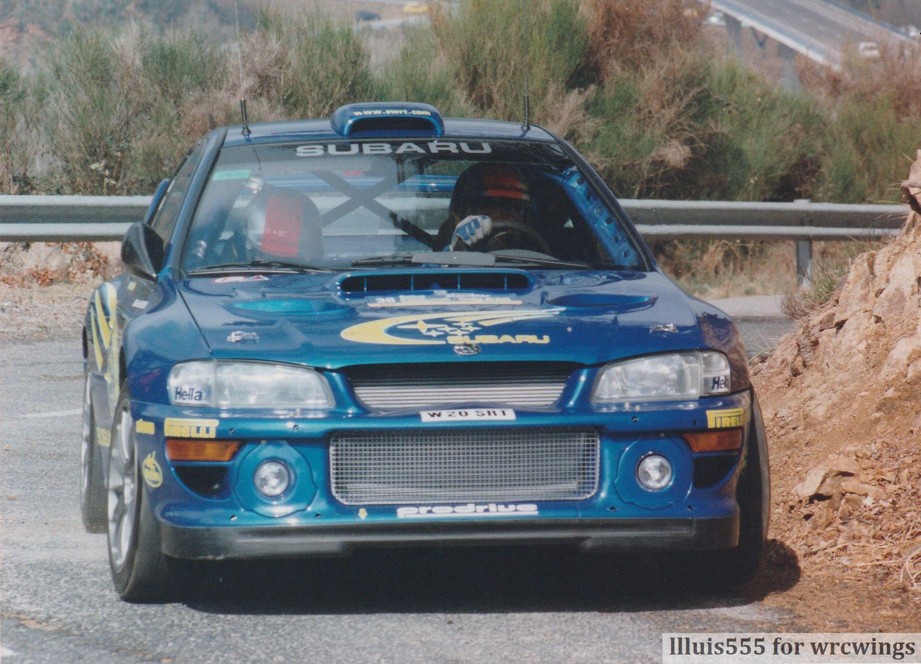 RBurns Cat 2000 Subaru Impreza WRC