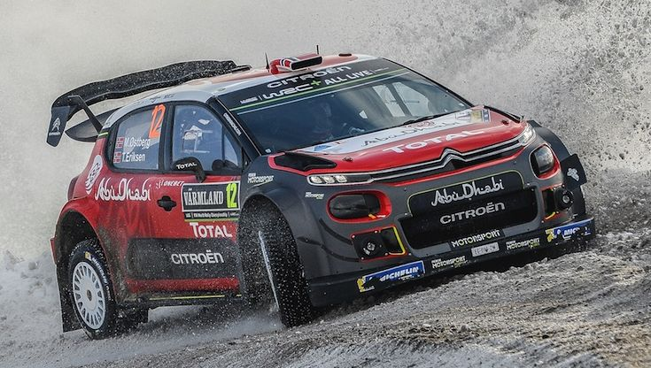 AUTOMOBILE: WRC Sweden - WRC -15/02/2018