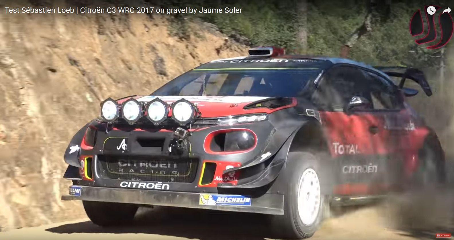 Loeb test september front splitter