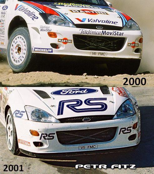 front bumper comparison 2000 2001